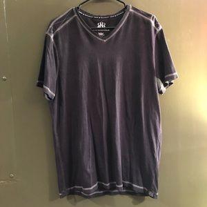 Rock & Republic Black Mens T-Shirt Size L